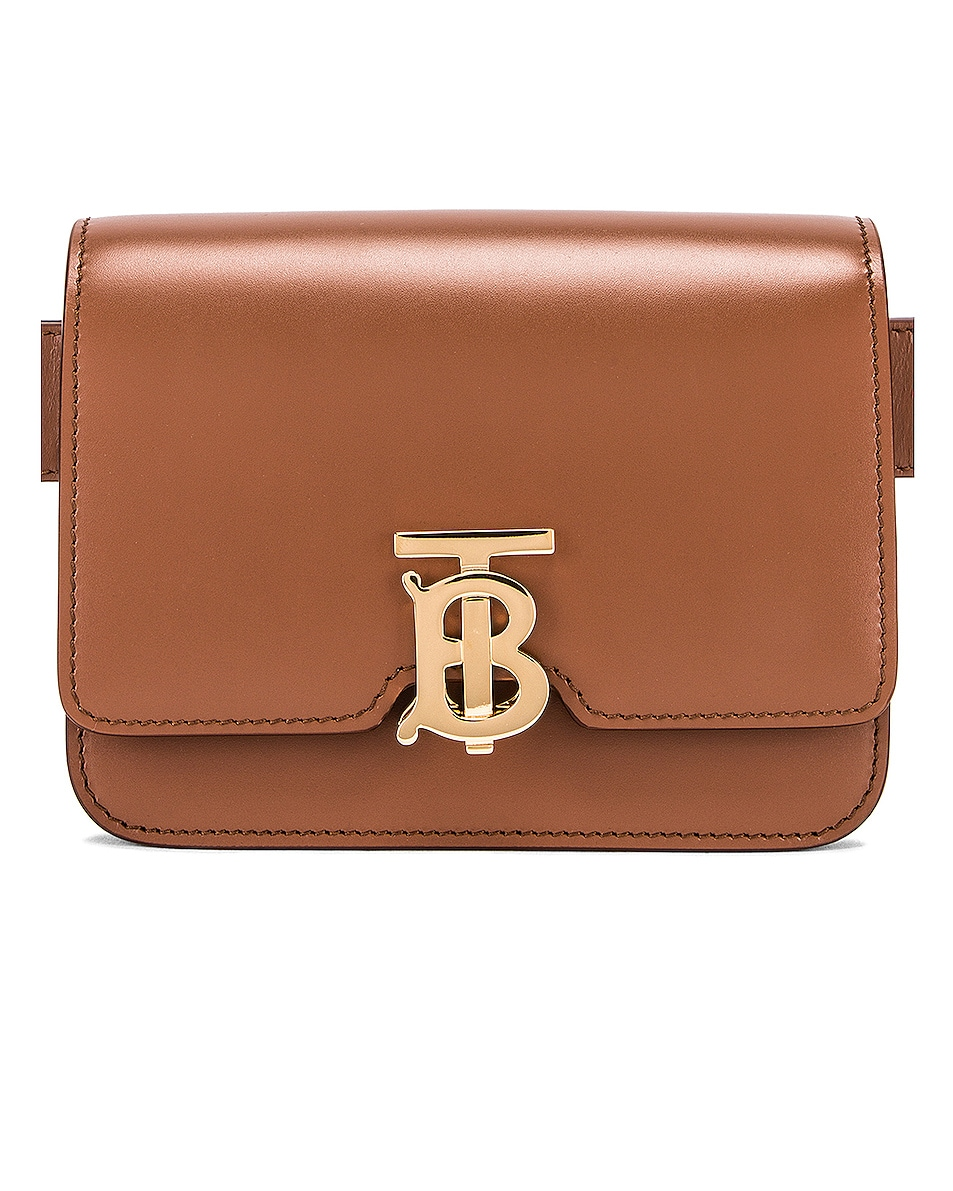 Image 1 of Burberry Bum Belt Bag in Malt Brown