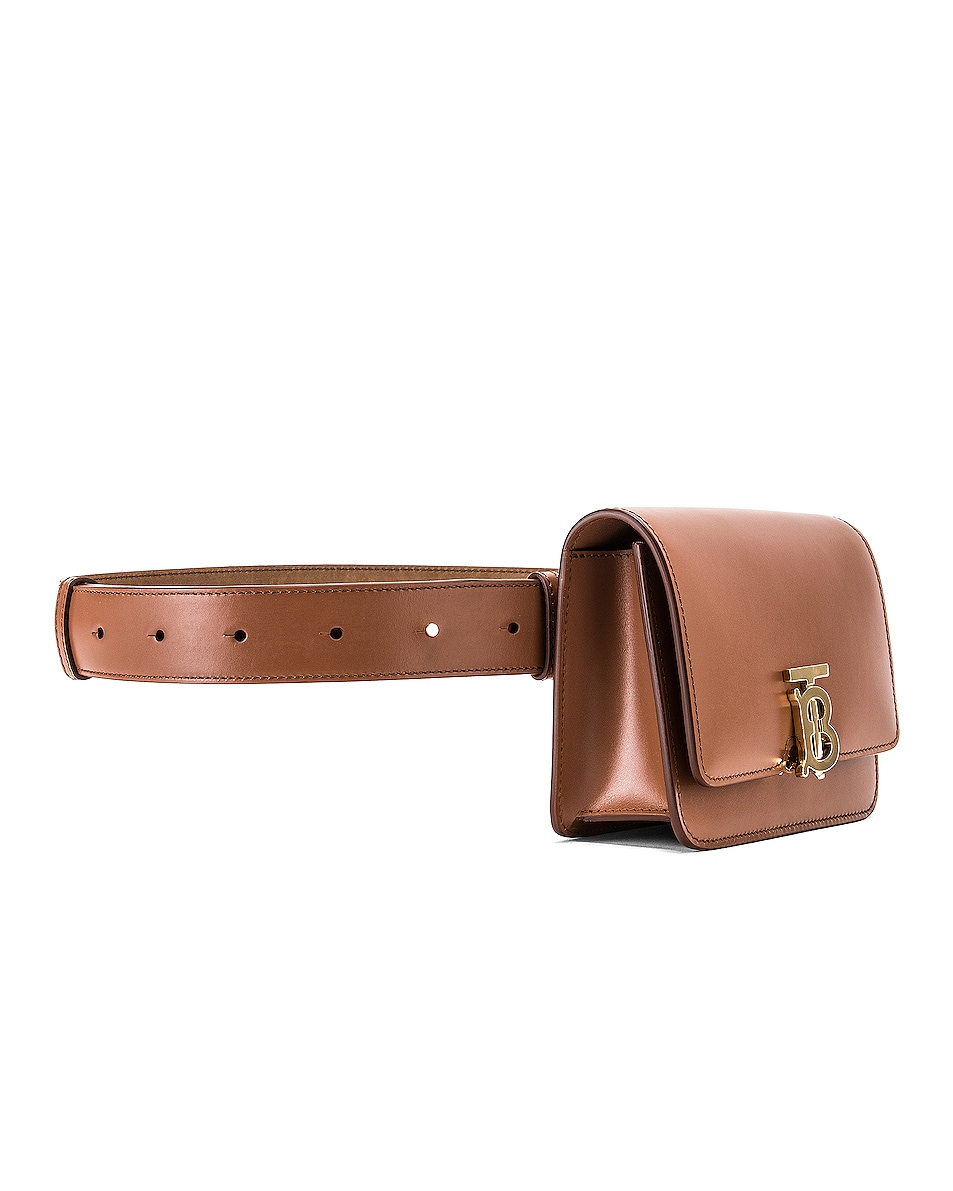 Image 4 of Burberry Bum Belt Bag in Malt Brown