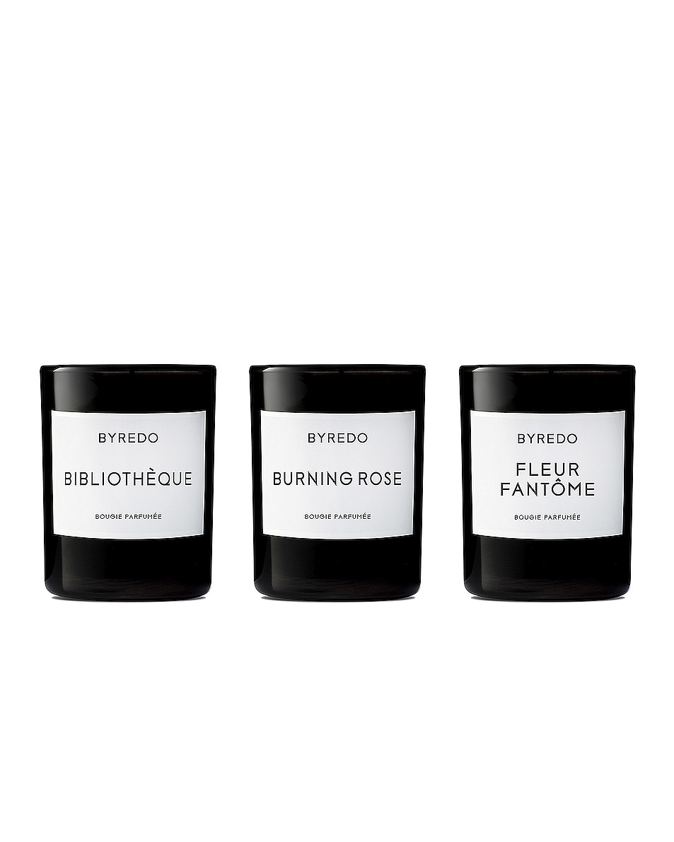 Image 1 of Byredo Mini Candle Trio Set Violette in