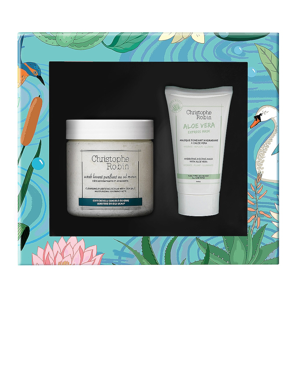 Image 1 of Christophe Robin Healthy Glow Gift Set in
