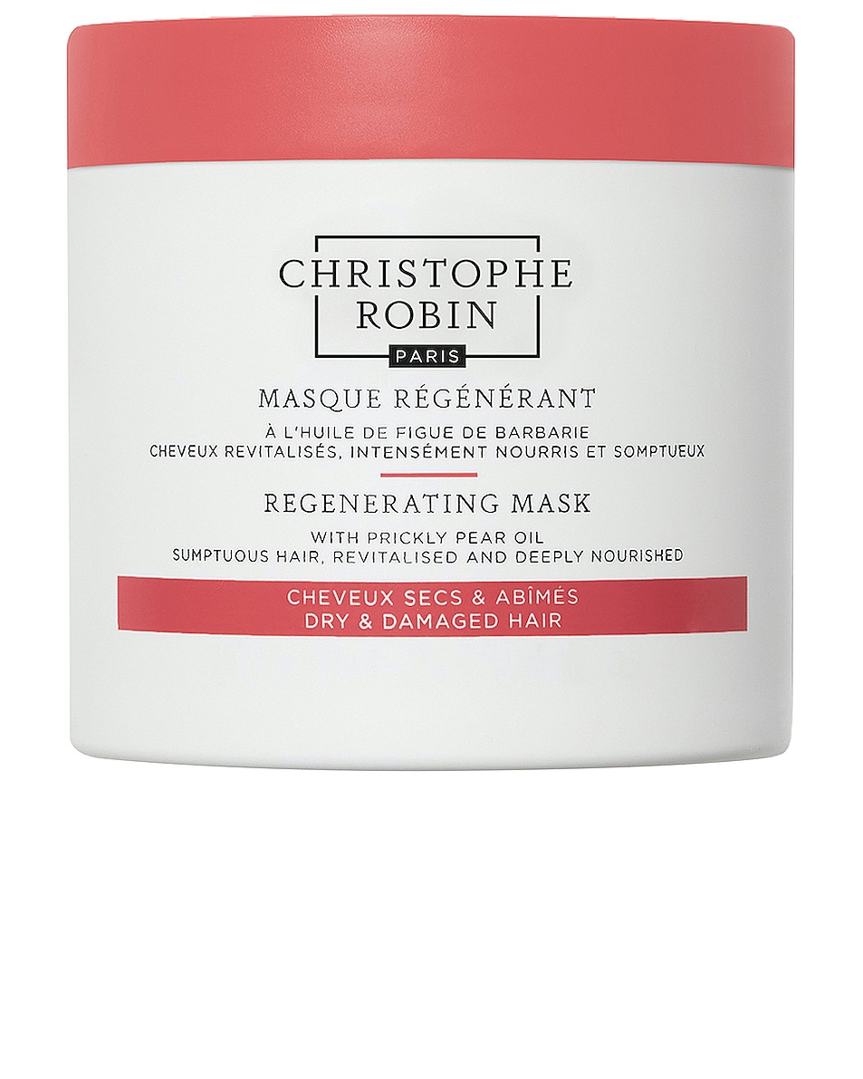 Image 1 of Christophe Robin Regenerating Mask with Rare Prickly Pear Seed Oil in