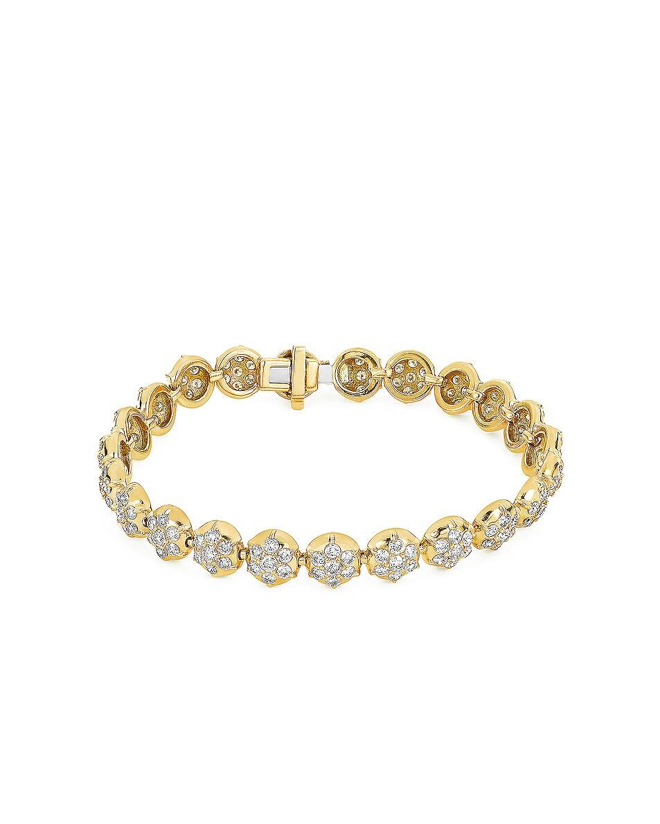 Image 2 of Carbon & Hyde Crown Tennis Bracelet in Gold