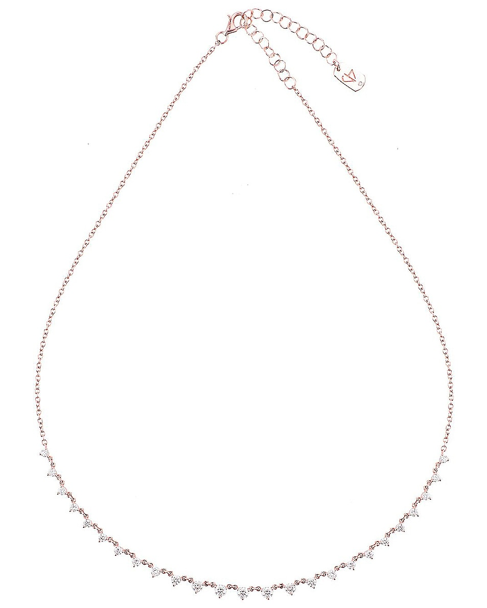 Image 1 of Carbon & Hyde Starstruck Necklace in 14K Rose Gold