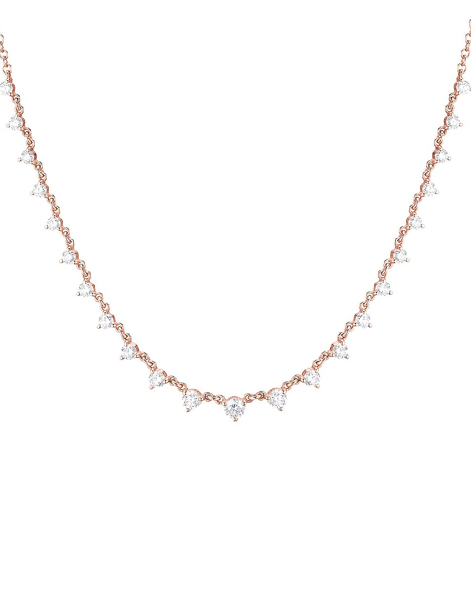Image 3 of Carbon & Hyde Starstruck Necklace in 14K Rose Gold