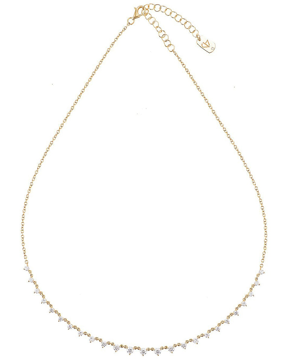 Image 1 of Carbon & Hyde Starstruck Necklace in 14K Yellow Gold