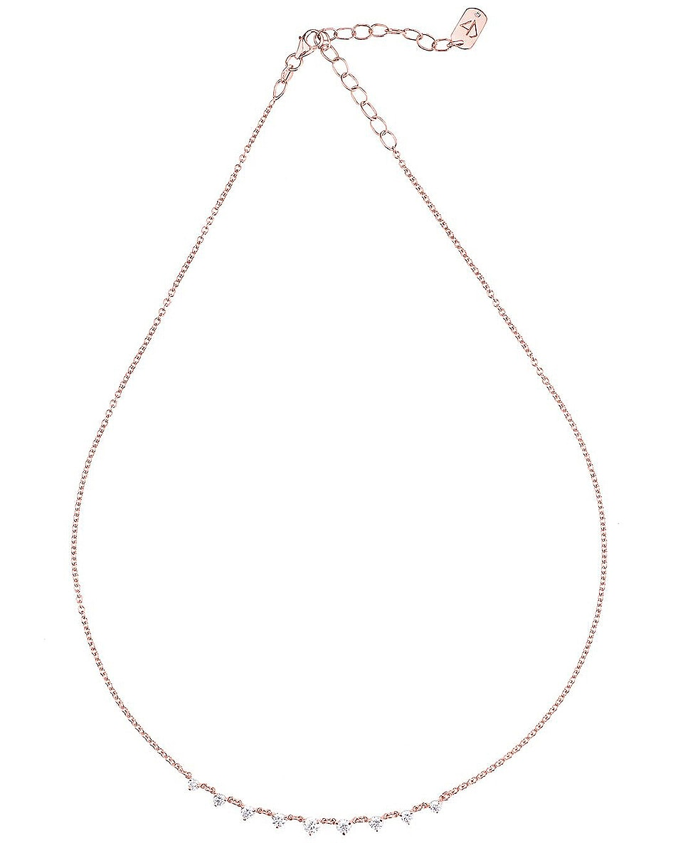 Image 1 of Carbon & Hyde Mini Starstruck Necklace in 14K Rose Gold
