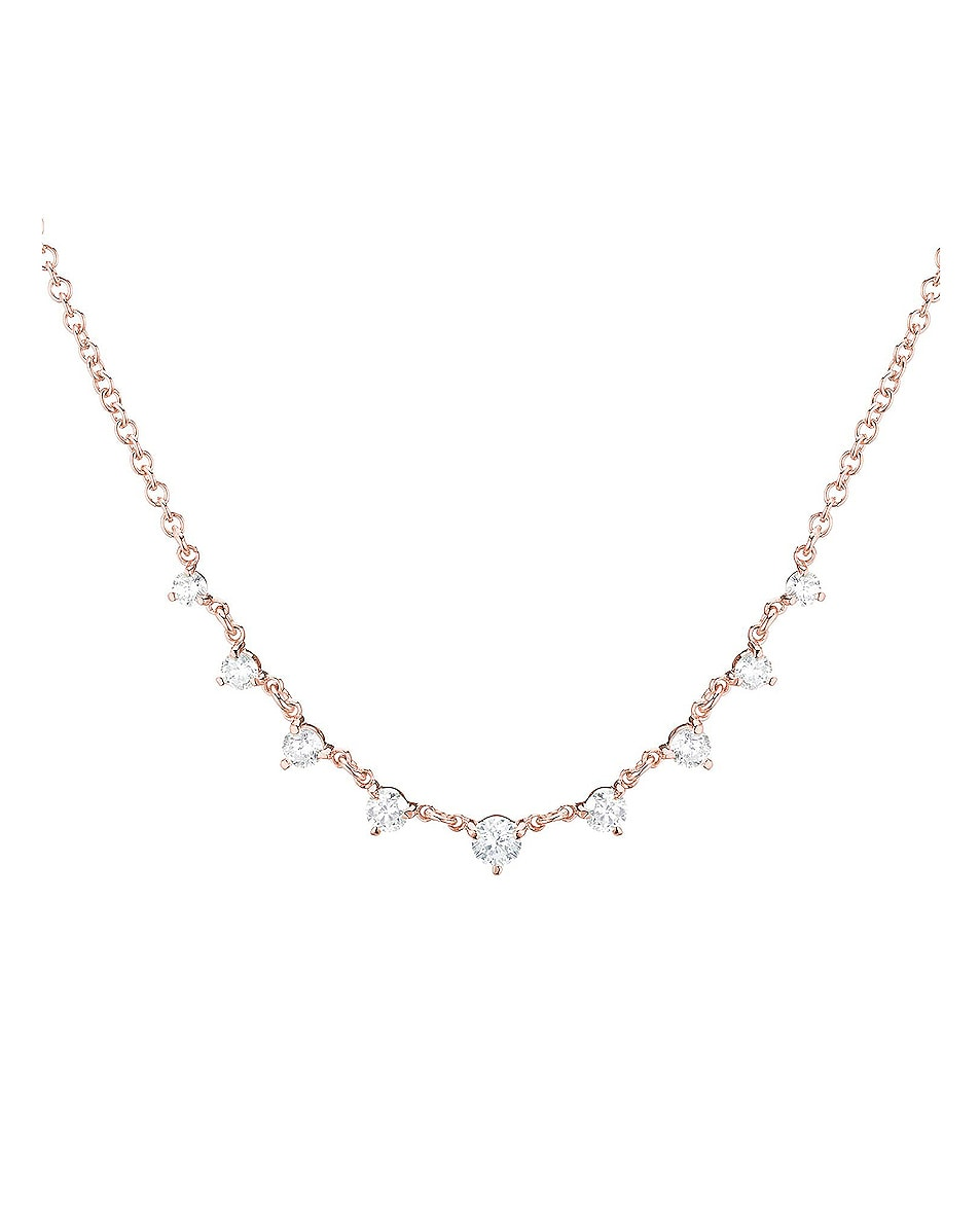 Image 3 of Carbon & Hyde Mini Starstruck Necklace in 14K Rose Gold