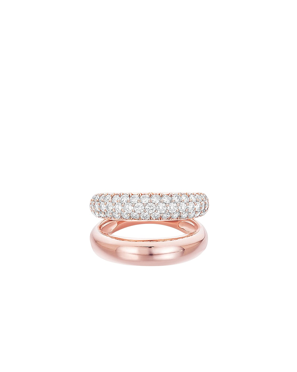 Image 1 of Carbon & Hyde Gemini Ring in 14K Rose Gold