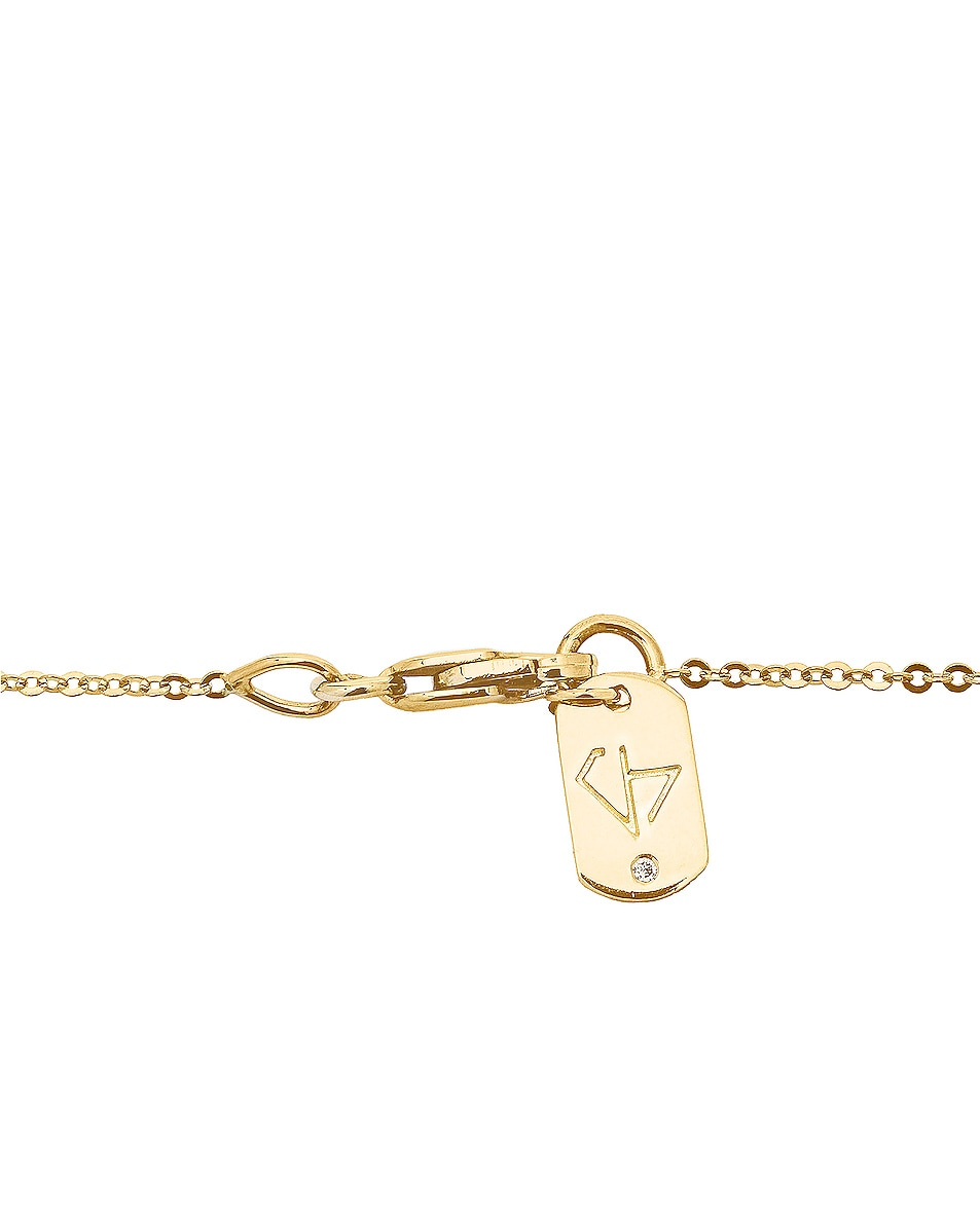 Image 4 of Carbon & Hyde Rose Chain Choker in Gold