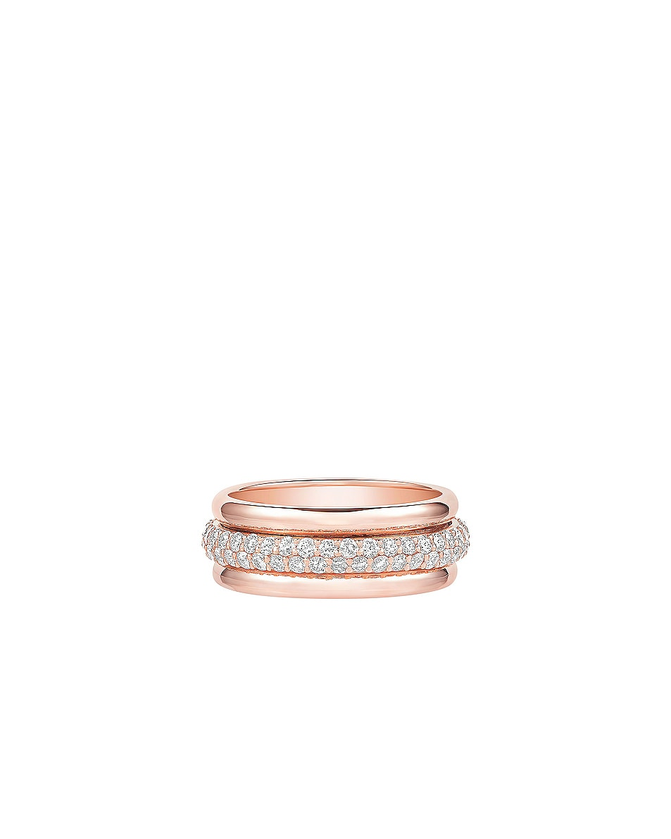 Image 1 of Carbon & Hyde Orbit Ring in 14K Rose Gold