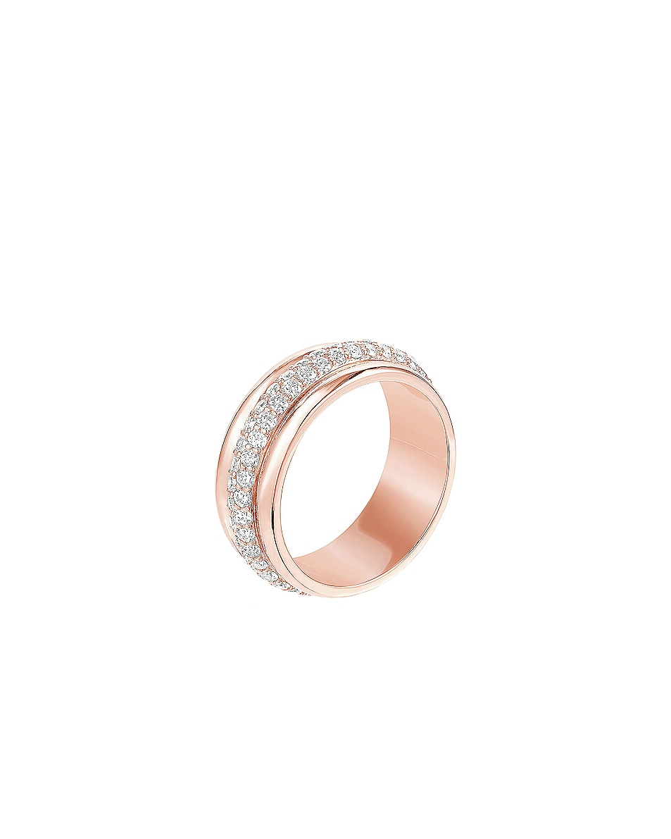 Image 2 of Carbon & Hyde Orbit Ring in 14K Rose Gold