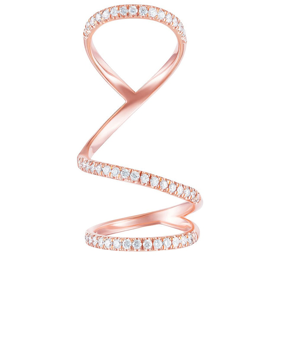 Image 1 of Carbon & Hyde Arabesque Ring in 14K Rose Gold