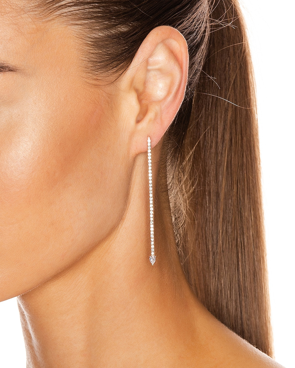 Image 2 of Carbon & Hyde Millo Earrings in 14K Rose Gold