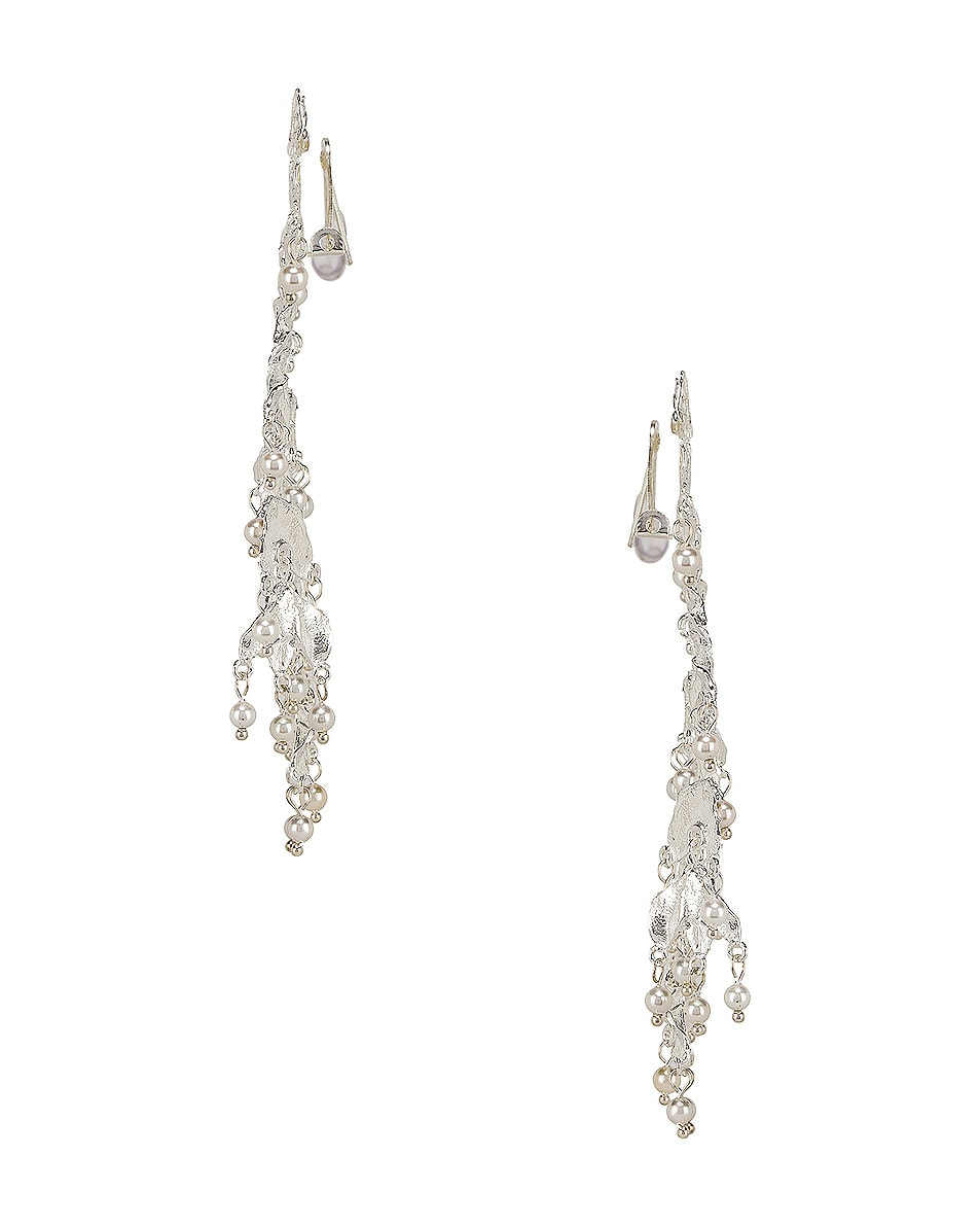 Image 3 of Christie Nicolaides Magdalena Earrings in Silver