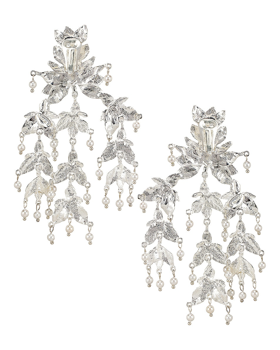 Image 4 of Christie Nicolaides Magdalena Earrings in Silver