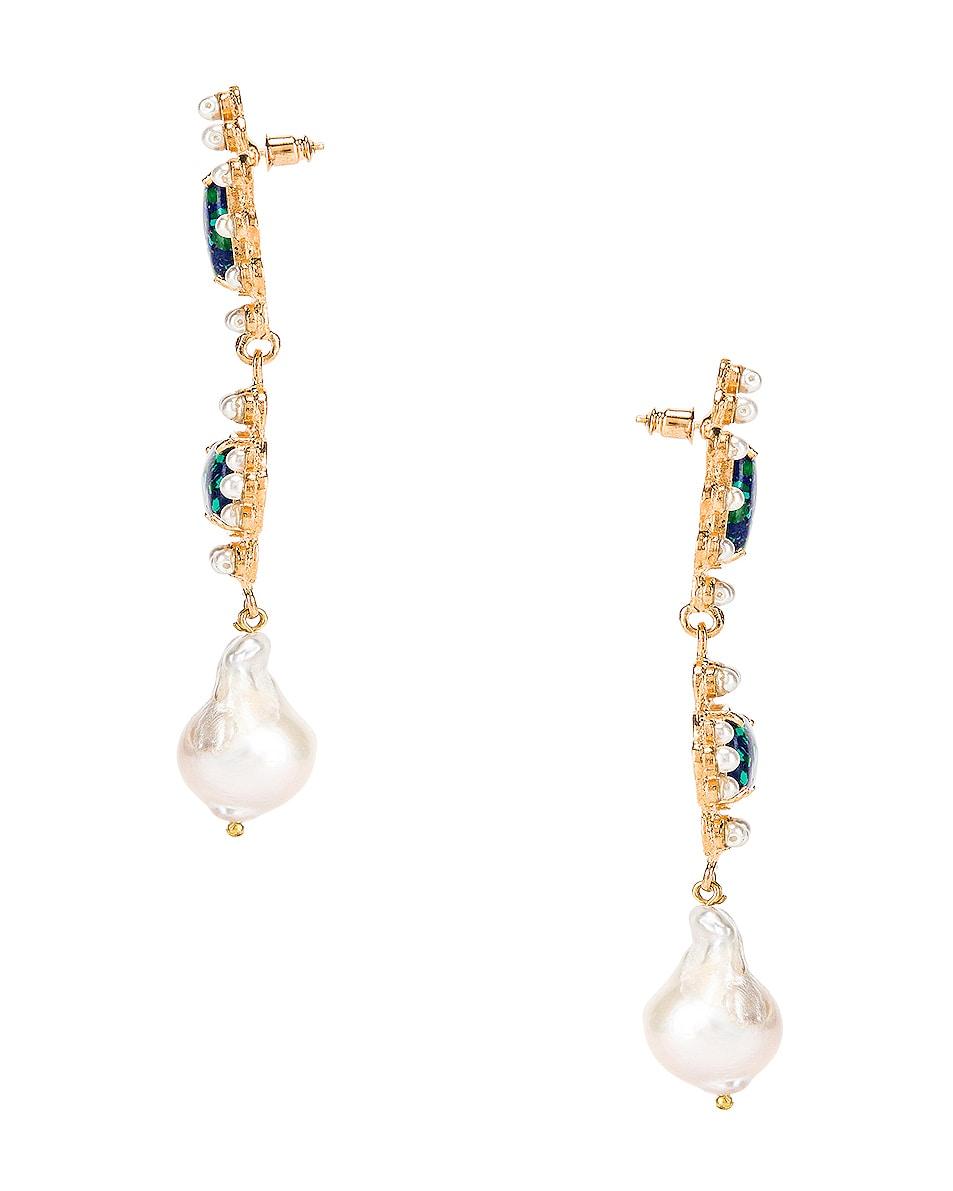 Image 3 of Christie Nicolaides Graciela Earrings in Amazonite