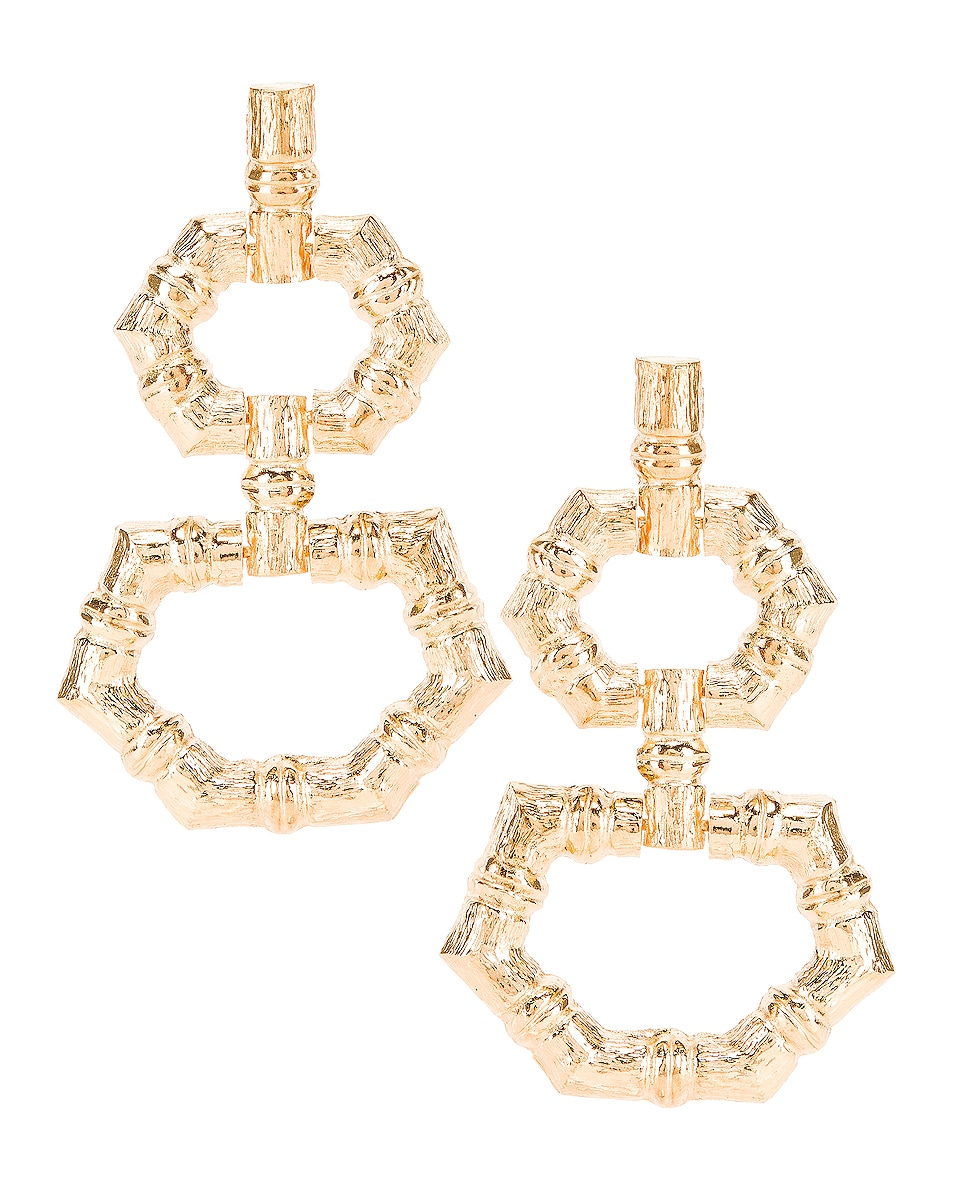 Image 1 of Christie Nicolaides Velez Earrings in Gold