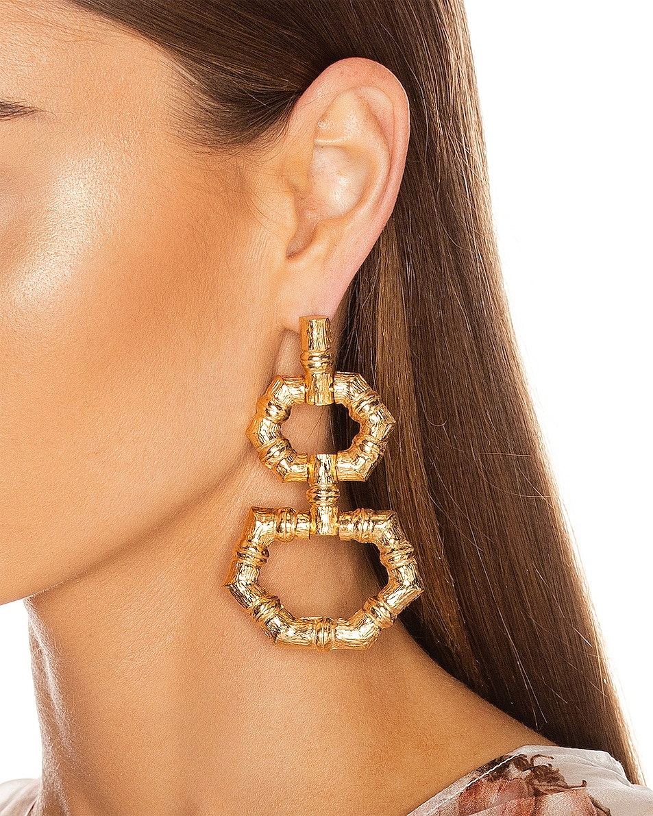 Image 2 of Christie Nicolaides Velez Earrings in Gold