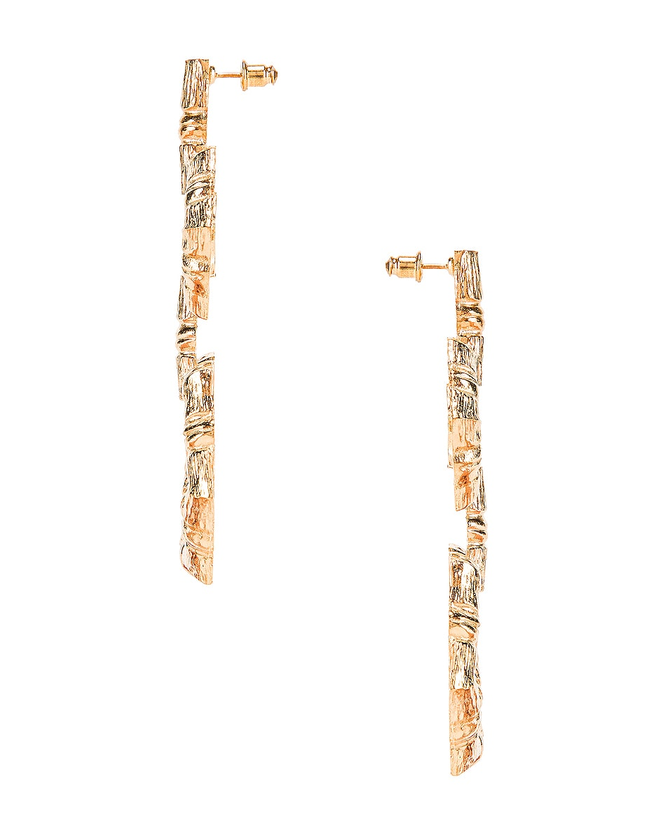 Image 3 of Christie Nicolaides Velez Earrings in Gold