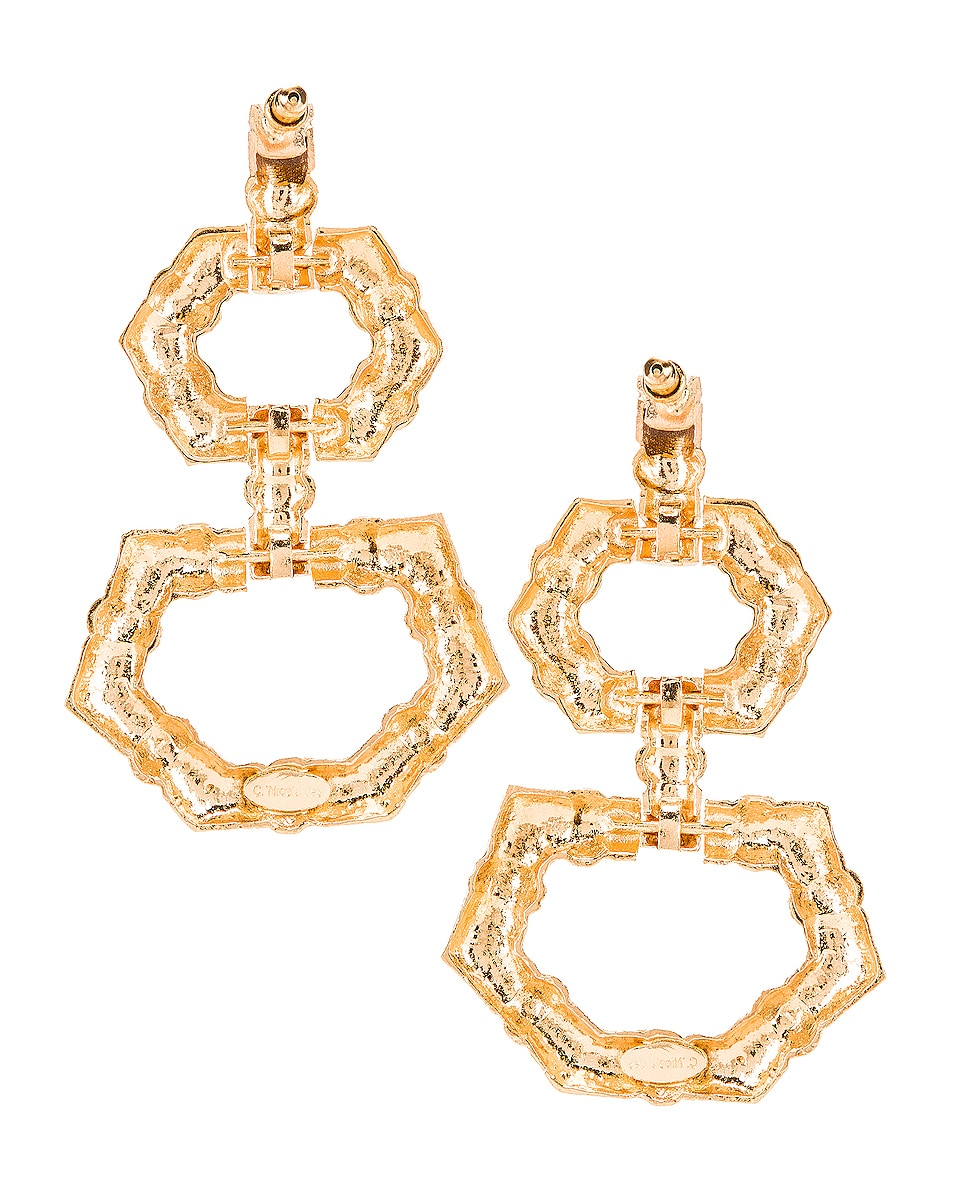 Image 4 of Christie Nicolaides Velez Earrings in Gold