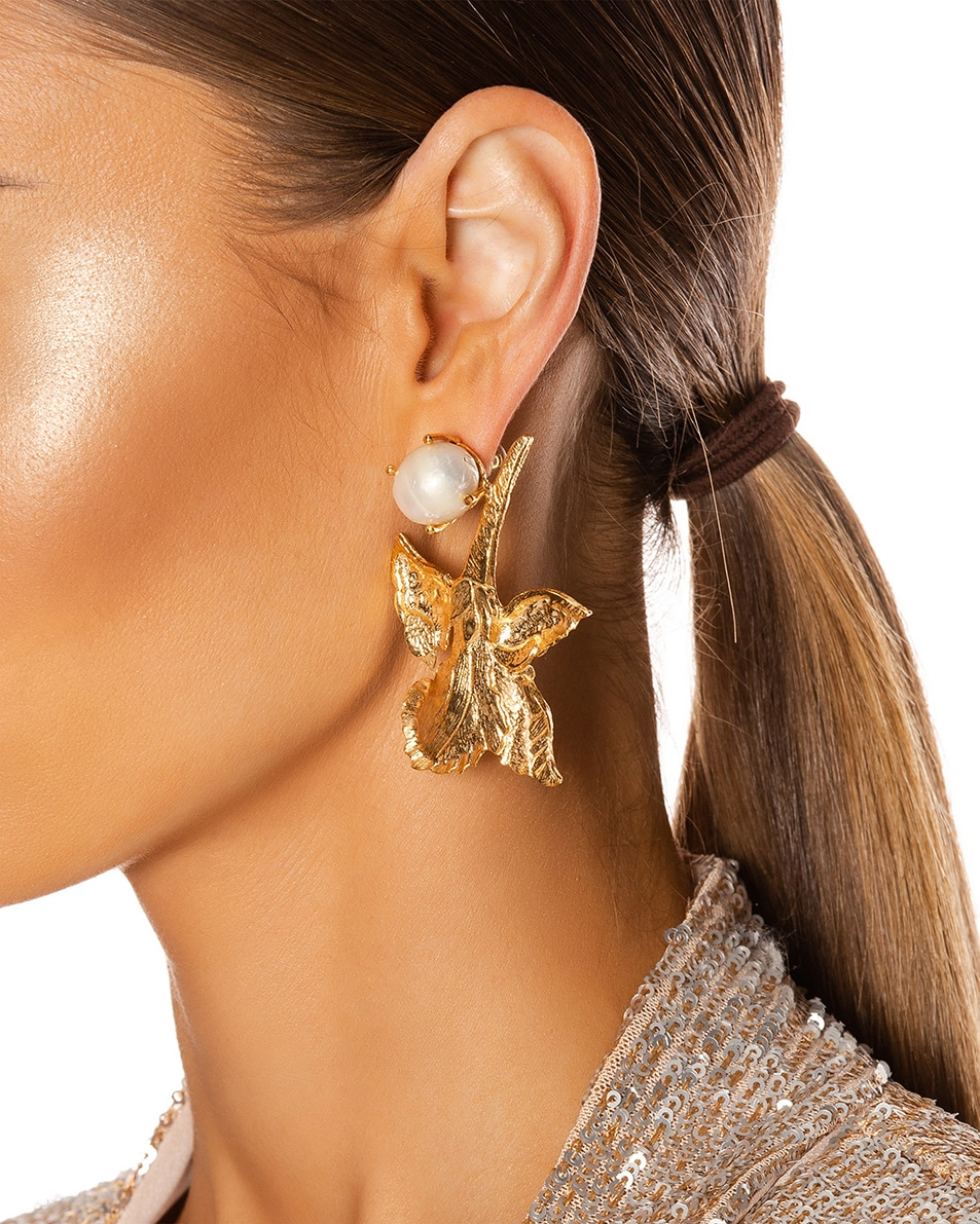 Image 2 of Christie Nicolaides Earrings in Gold