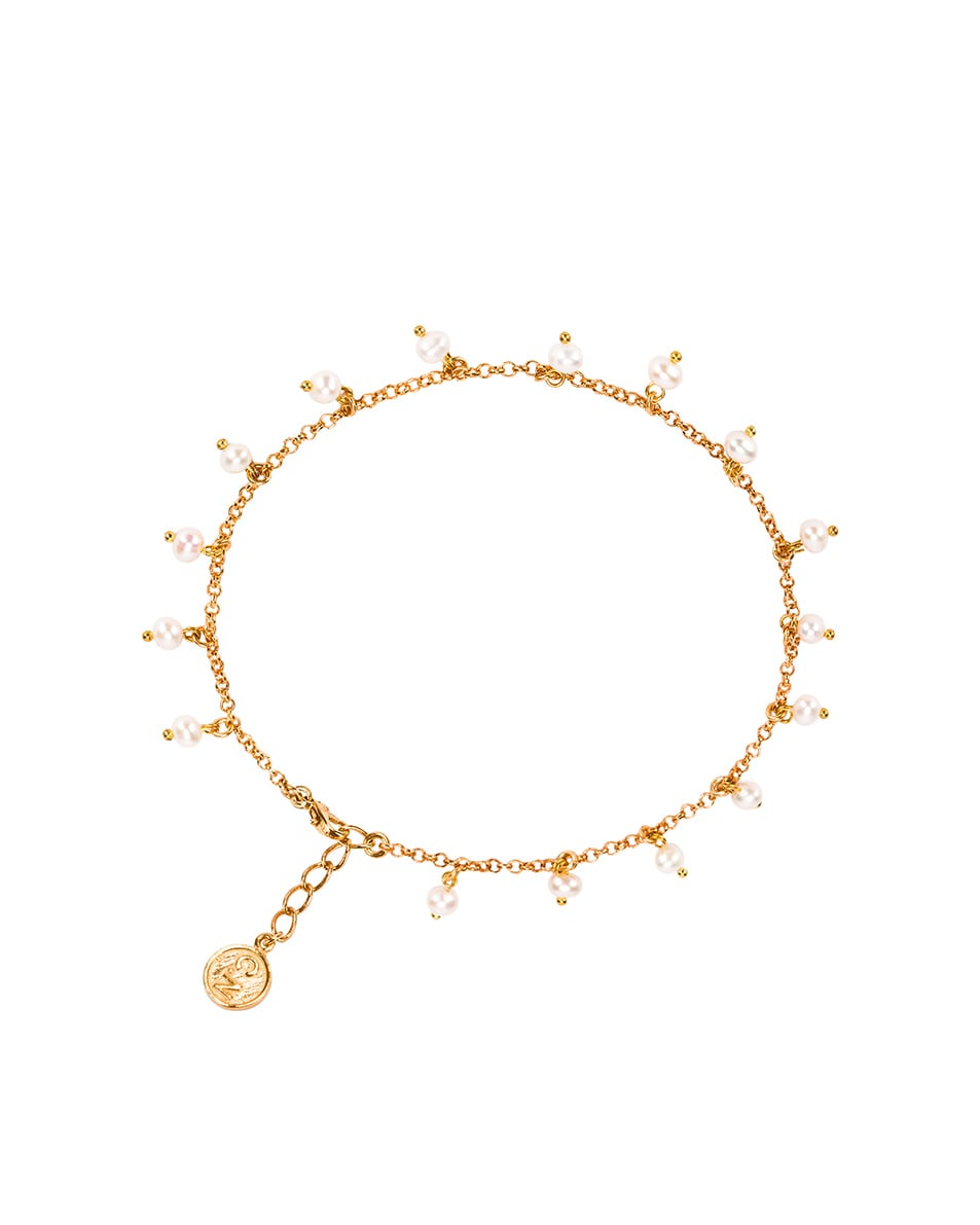 Image 1 of Christie Nicolaides Isla Anklet in Pearl