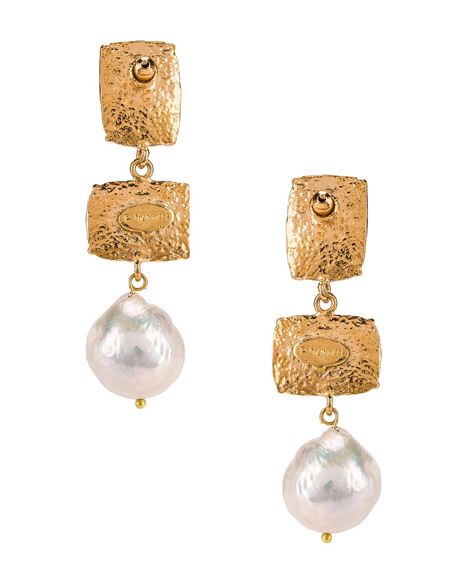 Image 4 of Christie Nicolaides Loren Earrings in Pink