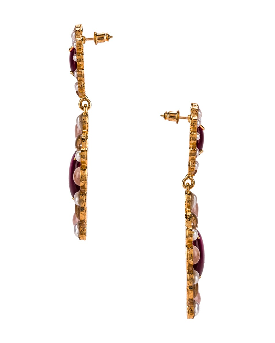 Image 3 of Christie Nicolaides Mirabella Earrings in Pink