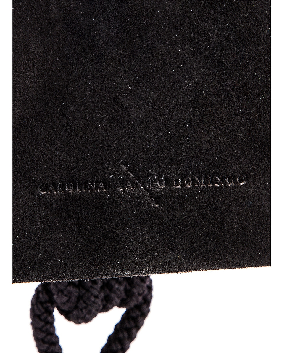Image 6 of Carolina Santo Domingo Eva Box in Black Suede