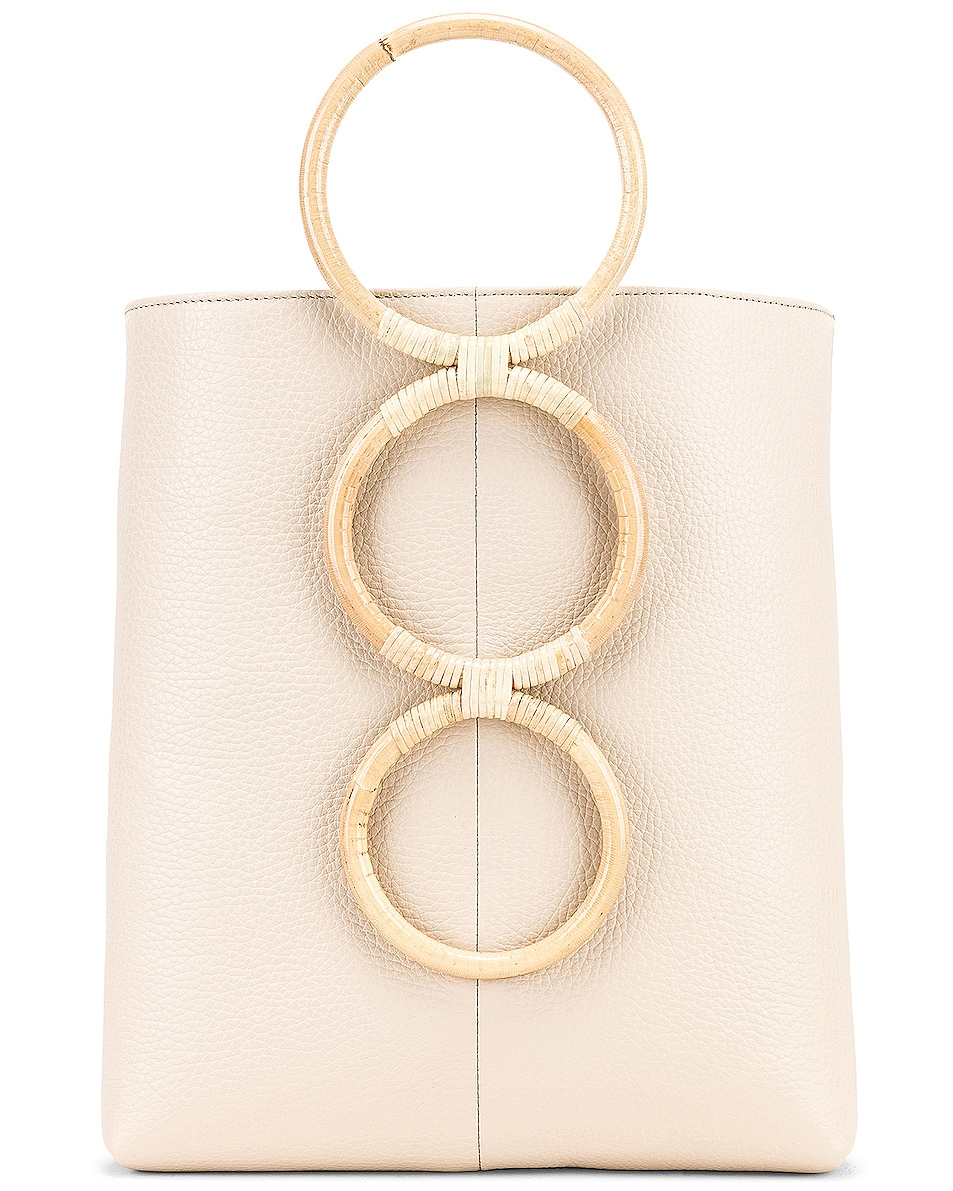 Image 1 of Carolina Santo Domingo Petra Mini Tote in All Over Nappa Lamb