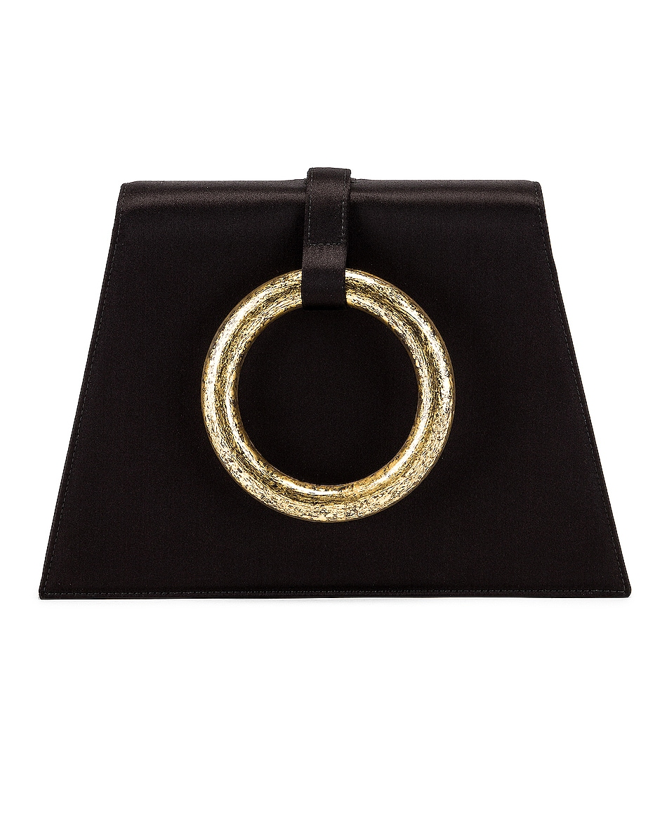 Image 1 of Carolina Santo Domingo Bangle Bag in Black