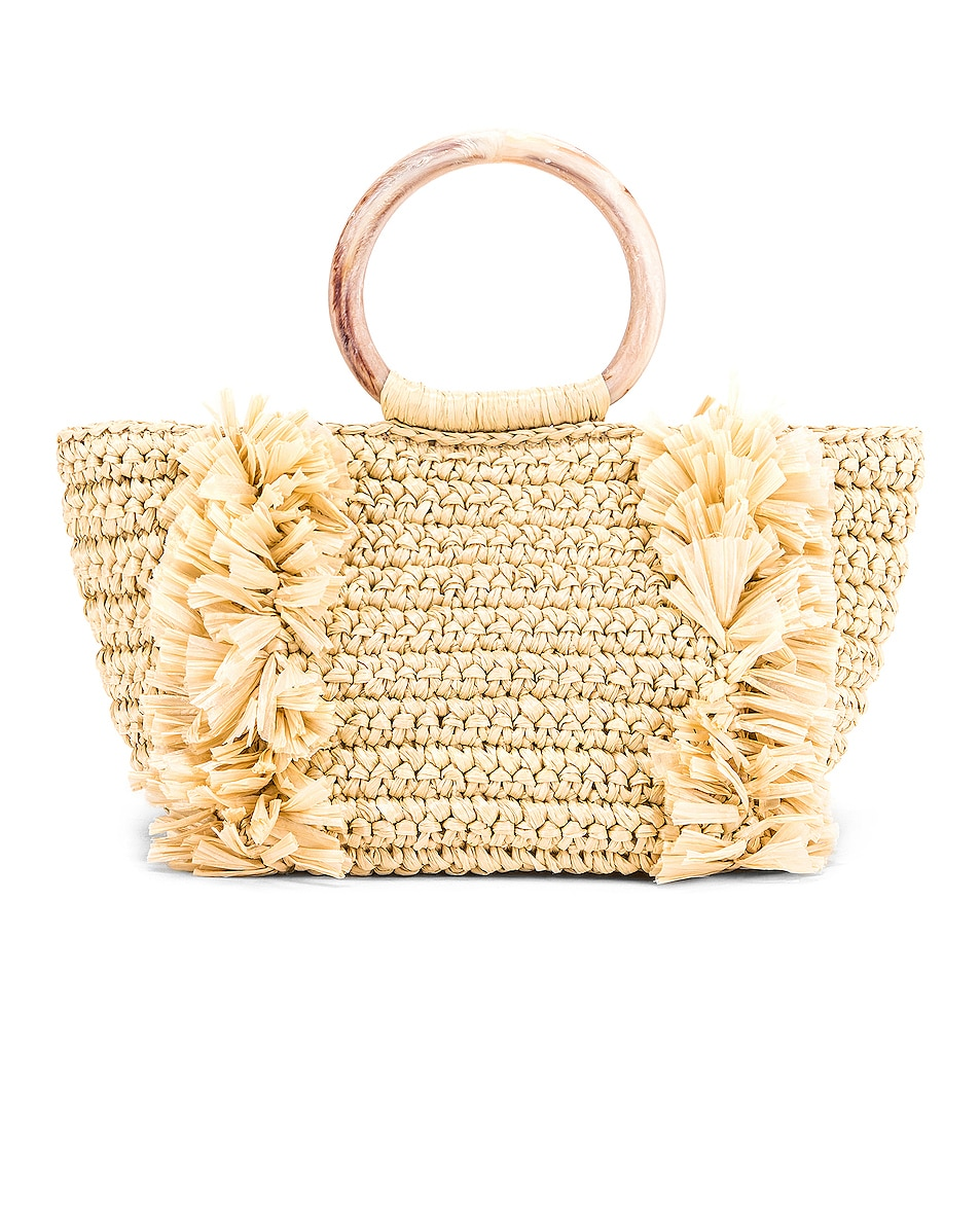 Image 2 of Carolina Santo Domingo Corallina Bag in Straw