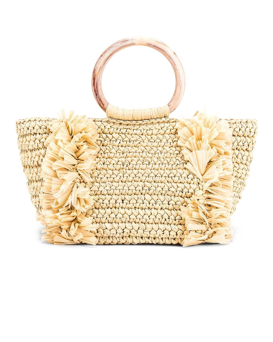 Image 2 of Carolina Santo Domingo Corallina Bag in Straw