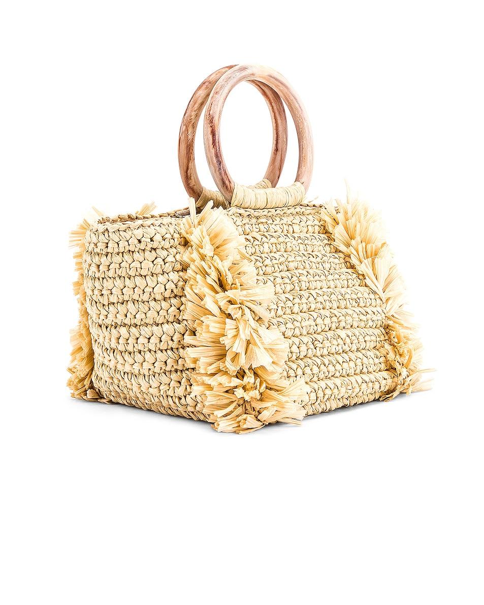 Image 3 of Carolina Santo Domingo Corallina Bag in Straw