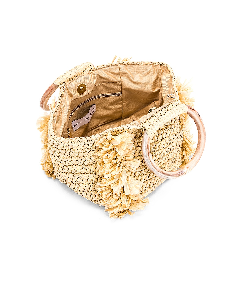 Image 4 of Carolina Santo Domingo Corallina Bag in Straw