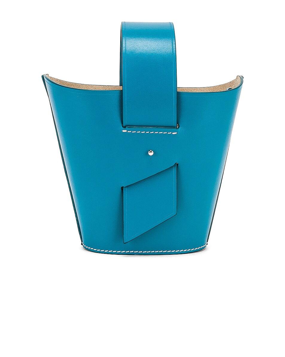 Image 3 of Carolina Santo Domingo Amphora Mini in Turquoise