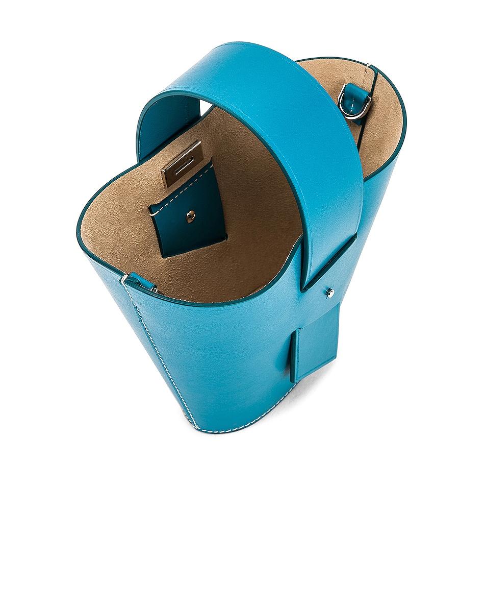 Image 5 of Carolina Santo Domingo Amphora Mini in Turquoise