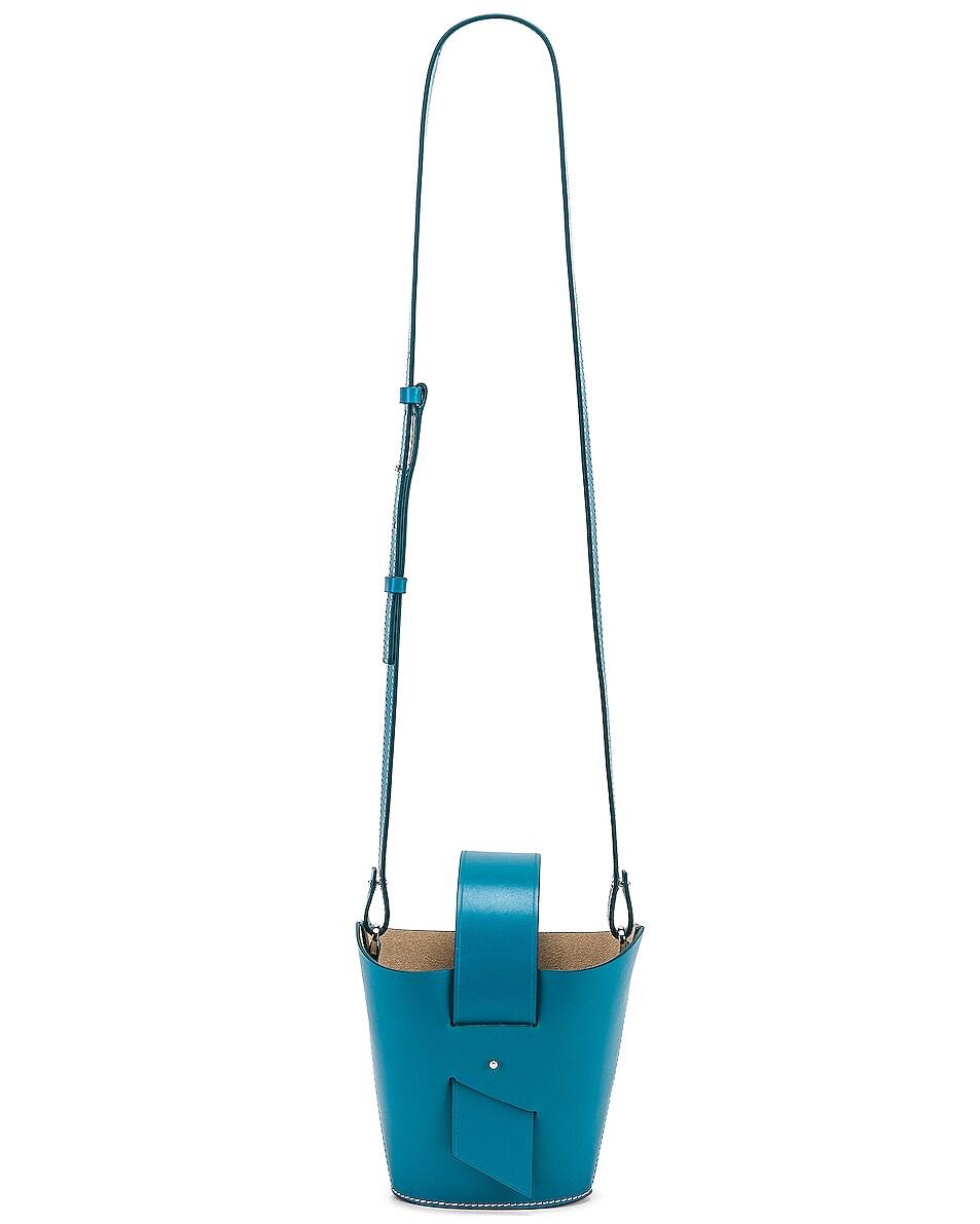 Image 6 of Carolina Santo Domingo Amphora Mini in Turquoise