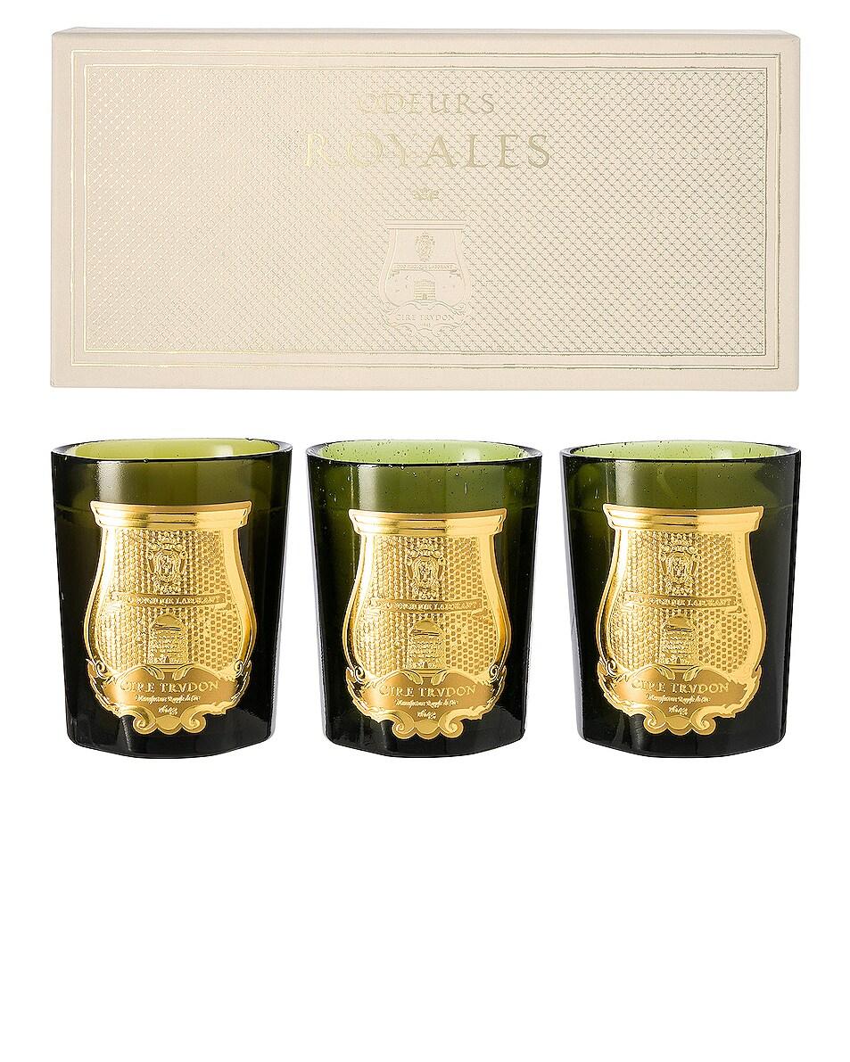 Image 1 of Cire Trudon Royal Scents Gift Set in La Marquise & Solis Rex & Trianon