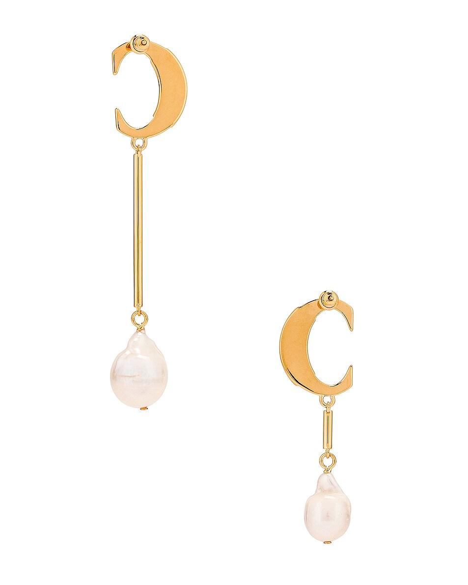 Image 4 of Chloe C Drop Earrings in Pearl