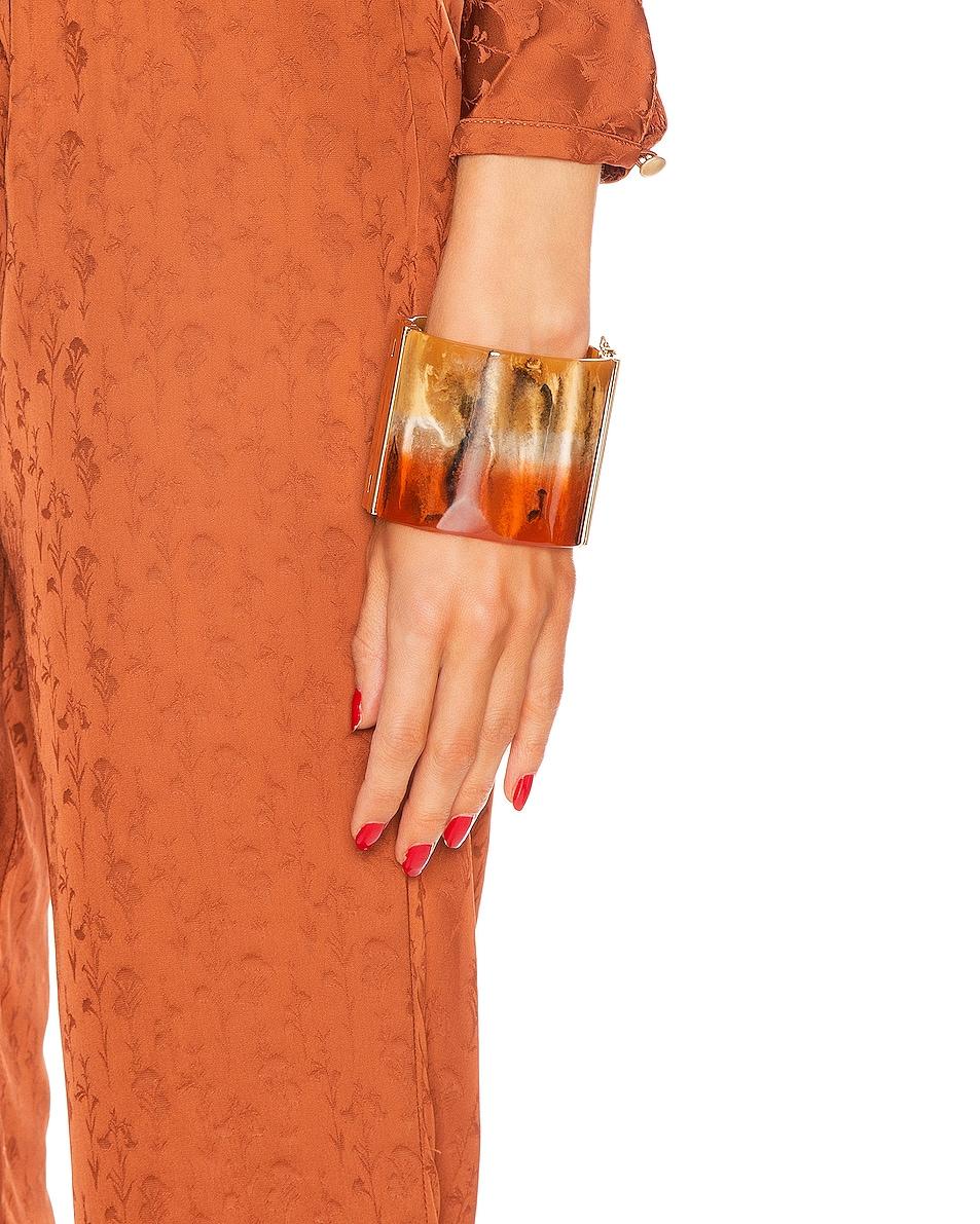 Image 2 of Chloe Ombre Bracelet in Tangerine