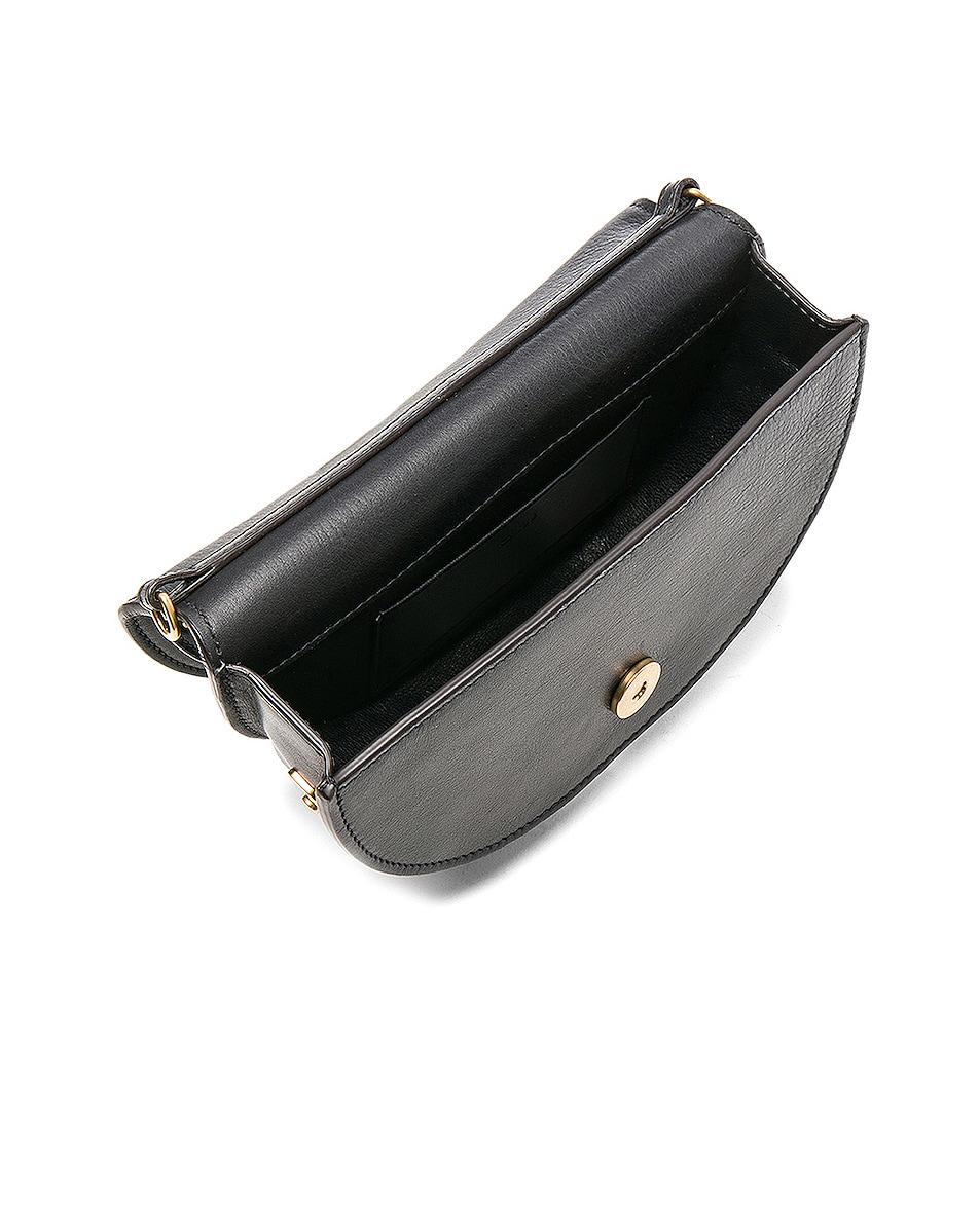 Image 5 of Chloe Small Nile Leather Minaudiere in Black