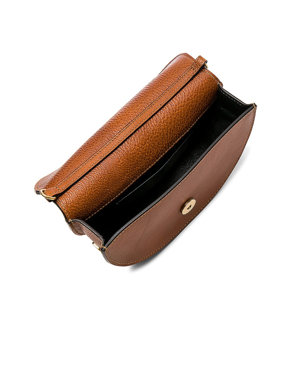 Image 5 of Chloe Small Nile Leather Minaudiere in Caramel