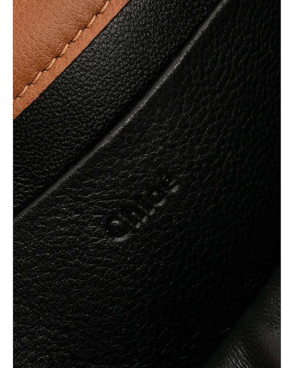 Image 7 of Chloe Small Nile Leather Minaudiere in Caramel
