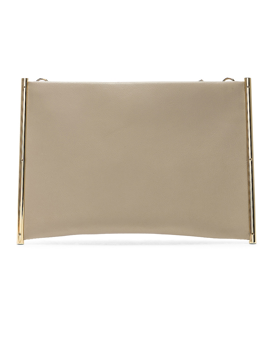 Image 3 of Chloe Roy Smooth Calfskin Clutch in Pastel Grey