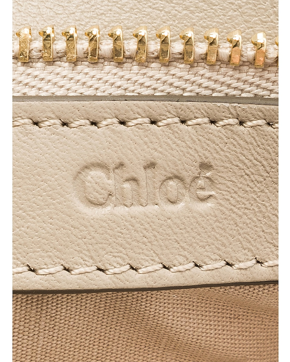 Image 7 of Chloe Roy Smooth Calfskin Clutch in Pastel Grey