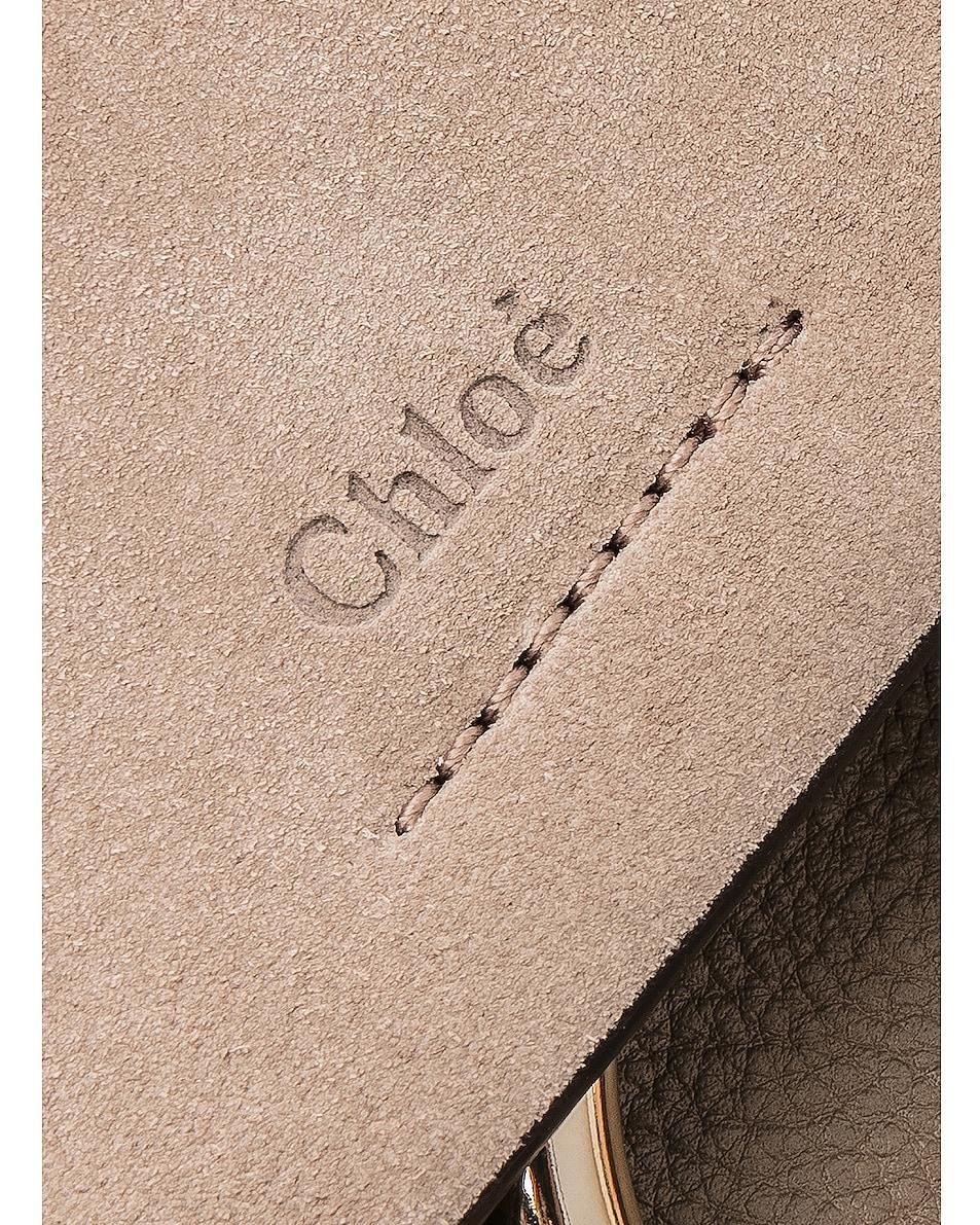 Image 6 of Chloe Small Faye Backpack Calfskin & Suede in Motty Grey
