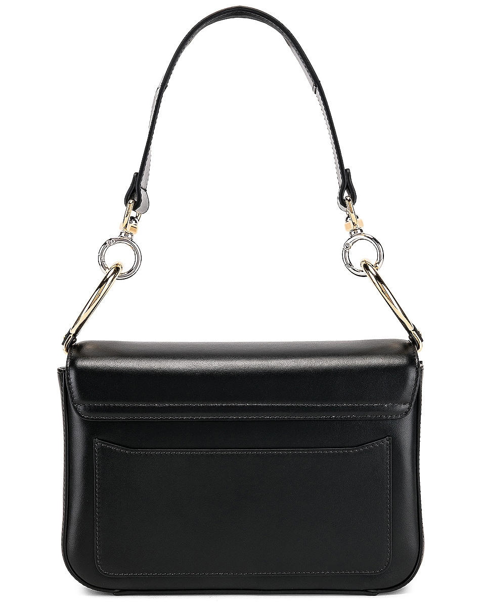 Image 3 of Chloe Small Chloe C Double Carry Bag in Black