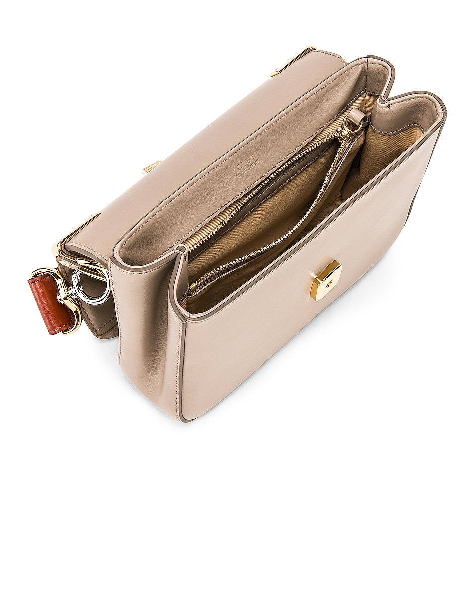 Image 5 of Chloe C Double Carry Bag in Motty Grey