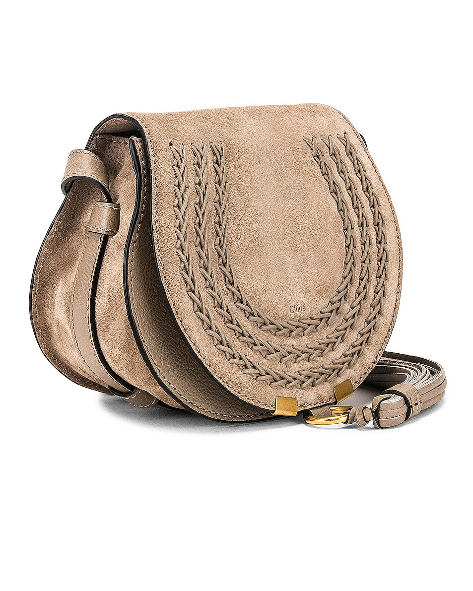 Image 4 of Chloe Small Braid Marcie Satchel in Motty Grey